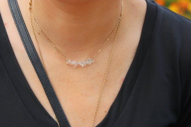 cristal de roche, juste juliette, gemstone, hand made, blog mode lille, fashion blogger