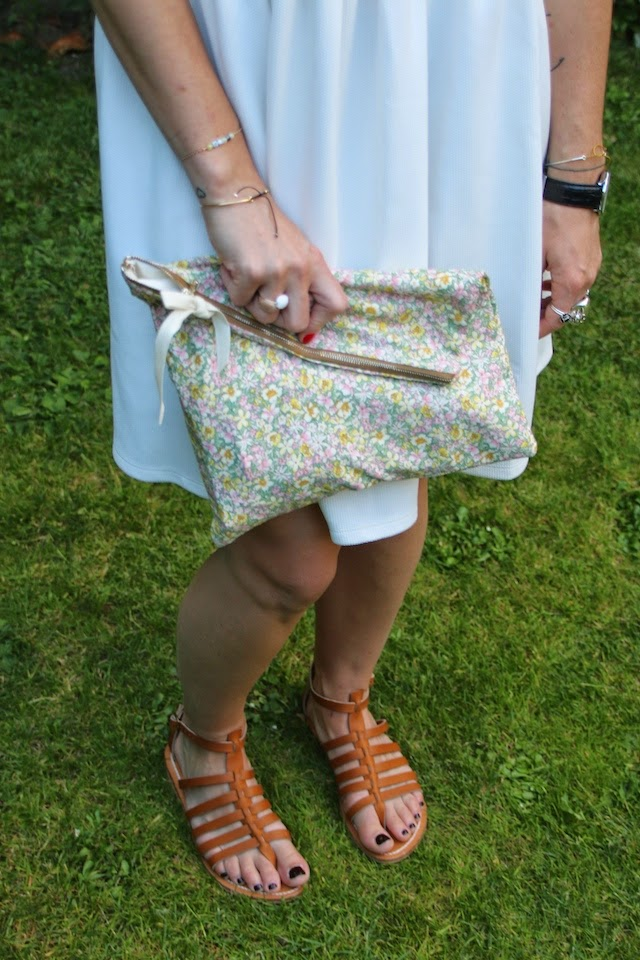 robe blanche, asos liberty, navy outfit, juste juliette, pretty sire, fashion blogger, blog mode lille, kjacques, spartiates
