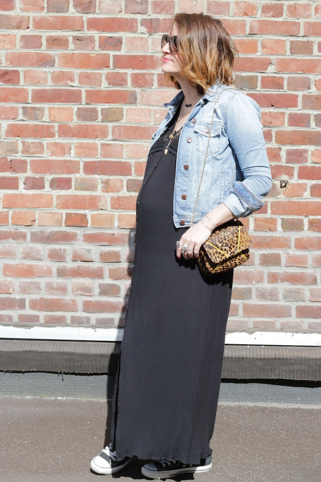 juste juliette, robe longue, babybump, forever21, zara, converse, heimstone, blog mode lille, fashion blogger