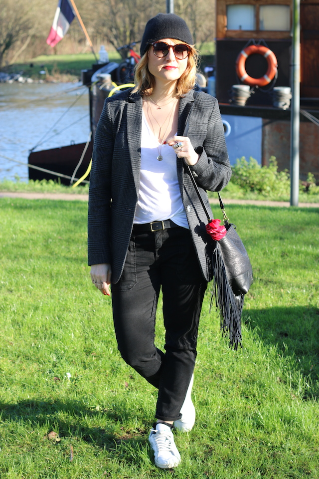 Juste juliette, blog mode, blog mode lille, fashion blogger, lille, veste prince de galles